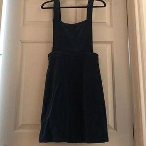 Mod Cloth Velvet Overall Dress
